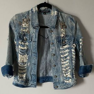 Alexander Wang | Distressed Jean Jacket